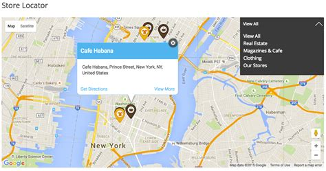 design infowindow google map wordpress woocommerce maps store locator by dawnthemes