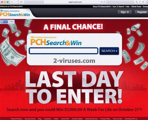 Pch Search And Win Com - pch search engine how to remove 2 viruses com