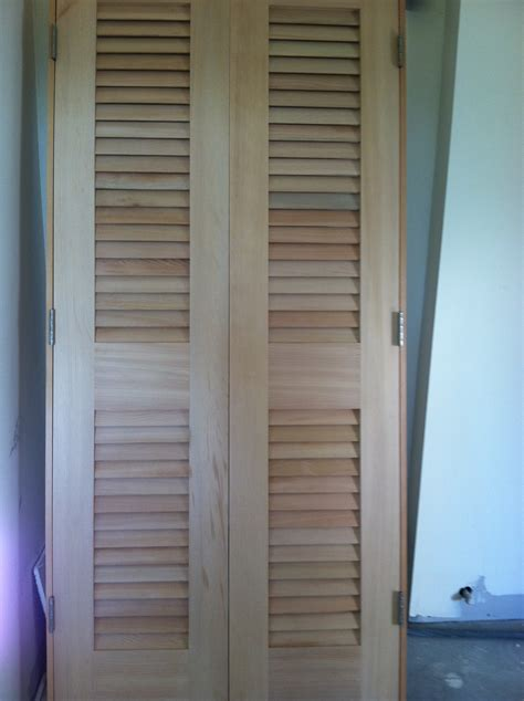 Louver Doors For Closets Popular Rustic Louvered Closet Doors Style How To Build A Headboard Bed With Louvered Closet