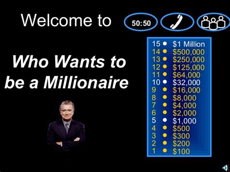 Flash Games Who Wants To Be A Millionaire Alchnagy Free Who Wants To Be A Millionaire