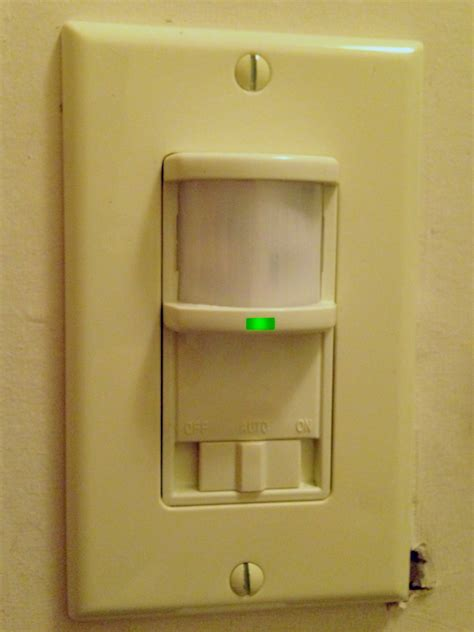 presence detector light switch occupancy sensor wikipedia