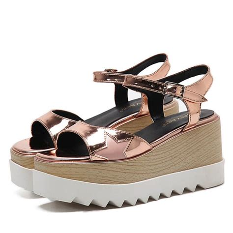 27 Coolest Platform Shoes For Summer 2009 by Summer Platform Shoes Oxfords Brogue Shiny