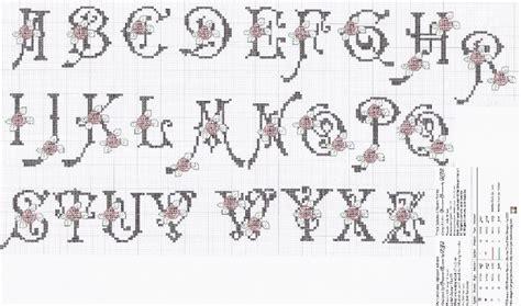Modèles De Lettre à Broder Mod 232 Le Broderie Point De Croix Alphabet