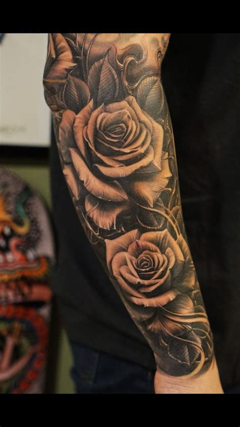 mens rose tattoos designs 22 awesome tattoos for awesome tat