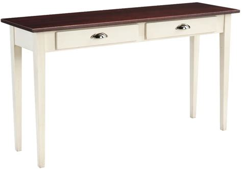 shaker sofa table amish classic shaker sofa table keystone collection
