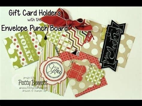 Envelope Punch Board Gift Card Holder - 273 best images about envelope punch board on pinterest gift card holders cards and
