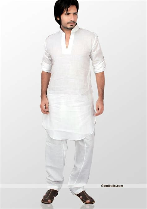 pattern kurta pajama kurta pajama for men sober off white cotton kurta pajama