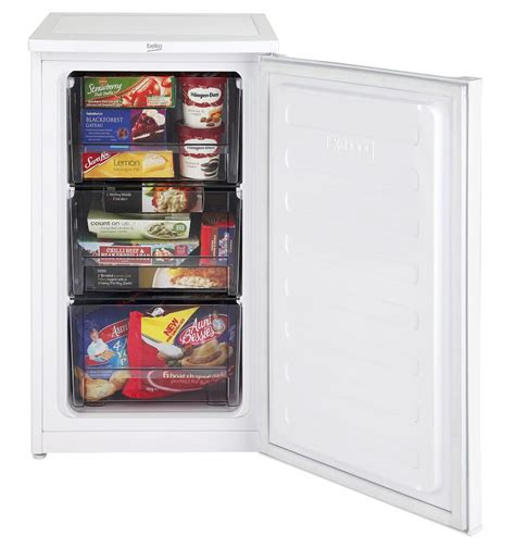 under counter freezer drawers beko uf483apw a rated 66 litres 3 drawers under counter
