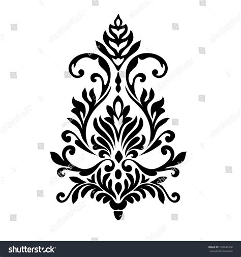 decorative baroque design elements vector vintage baroque frame scroll ornament engraving stock
