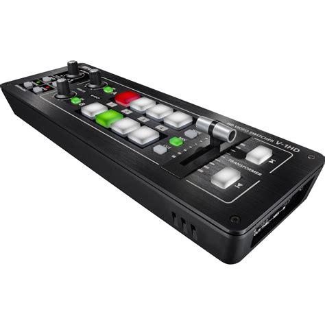 Roland V 1hd roland v 1hd portable 4 x hdmi input switcher v 1hd b h photo
