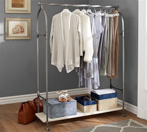 new york closet clothes rack pottery barn
