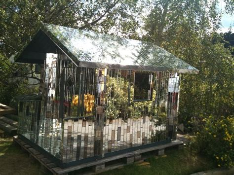 mirrored house mirror house sits on a lake near central stockholm architecture majestic phenomenon how