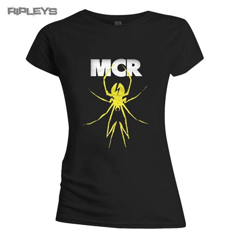 T Shirt Mcr official t shirt my chemical yellow spider