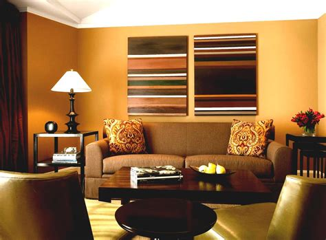 white ceiling and yellow wall modern living room colors with homelk