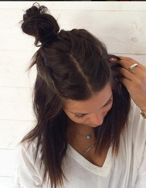 half updo bun hairstyles 17 best images about half up half down looks on pinterest
