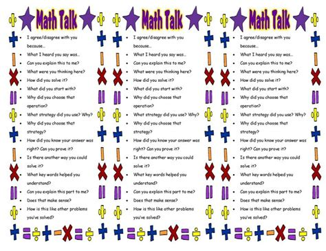 printable math bookmarks free printable bookmarks for math from math talk 101