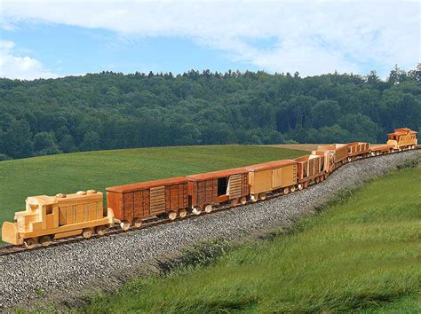Wood Plans Toy Trains