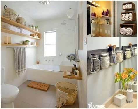 create storage on your bathroom wall