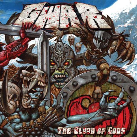 god of war blood and metal god of gwar the blood of gods faygoluvers