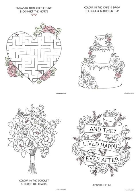 wedding coloring pages free free printable wedding colouring sheets for