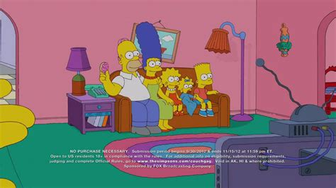 the simpsons couch gags simpsons couch gag contest tv commercial ispot tv