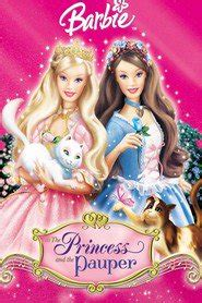 film barbie la principessa e la povera film in tv oggi