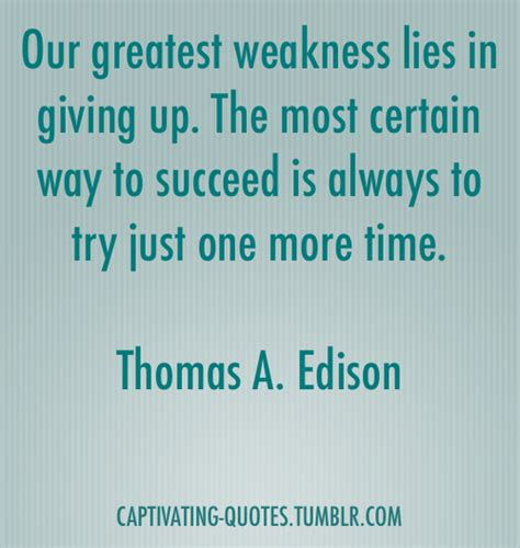 edison a captivating guide to the of a genius inventor books give up trying quotes quotesgram