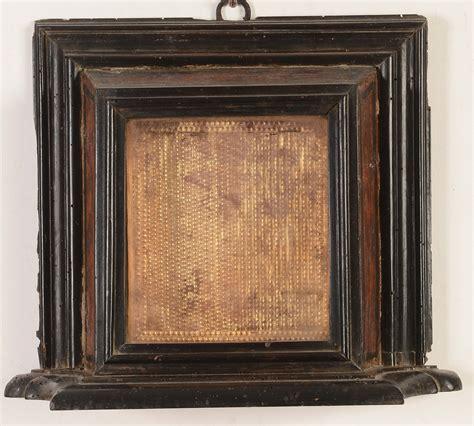 cornici per ste antiche cornice da reliquia a tabernacolo laccata a finto legno