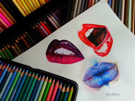 water colored pencils watercolor colored pencils realistic by vifoxx on