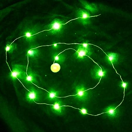 green led string lights waterproof led string led light green sureglow