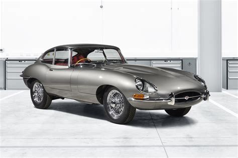 Car Types Beginning With E by Time Travelling In Style Jaguar Launches E Type Reborn
