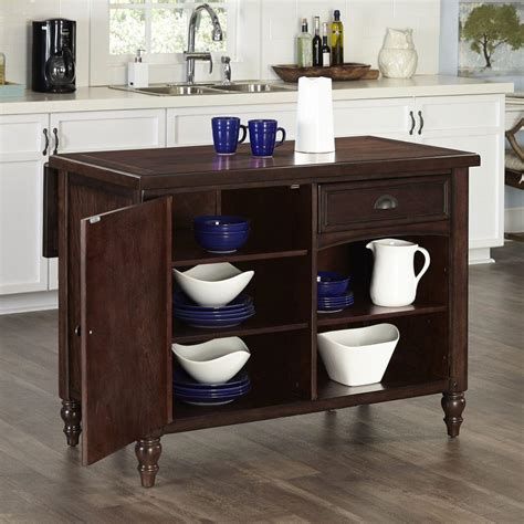 country style kitchen islands home styles country comfort aged bourbon kitchen island