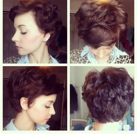 when to trim hair for thickness 2015 25 best ideas about wavy pixie on pinterest short wavy