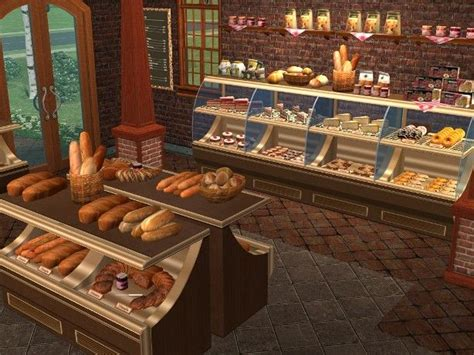 Things By Mode Deco by Mod The Sims Antique Bakery Set Decorative Foods And