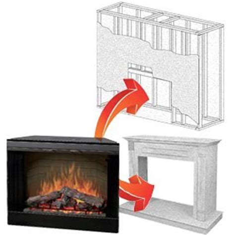 How To Install Electric Fireplace Insert by 5 Best Built In Fireplace Inserts Selling Today