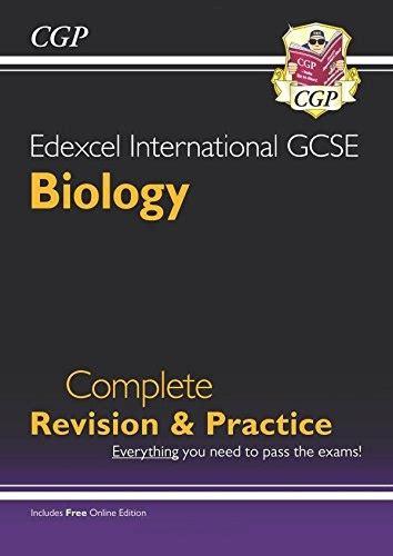 edexcel international gcse biology edexcel certificate international gcse biology complete revision practice with online edition