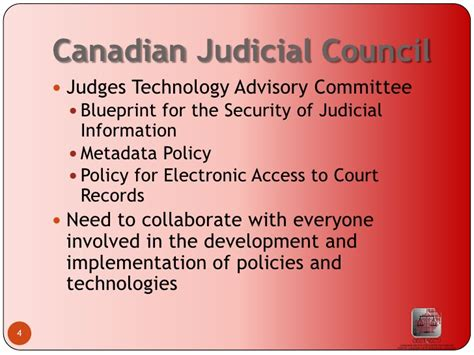 Electronic Court Records Canadian Centre For Court Technology Presentation