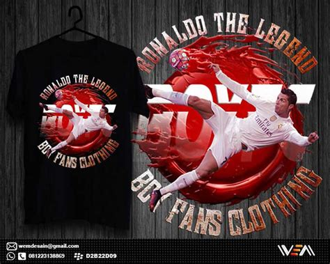The Legend Of Gatot Kaca Kaos 3d jasa desain grafis categories t shirt design