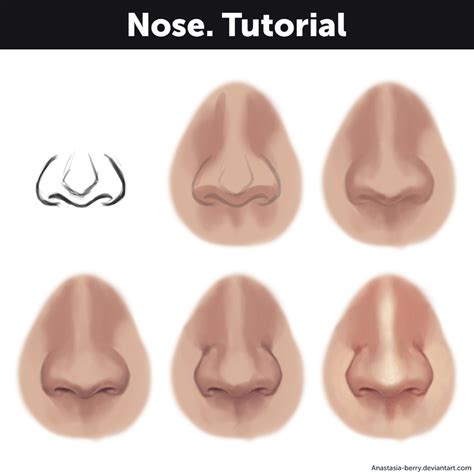 By Buy A Nose by Nose Tutorial By Berry On Deviantart