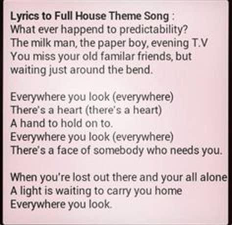 full house song lyrics 1000 images about full house on pinterest full house
