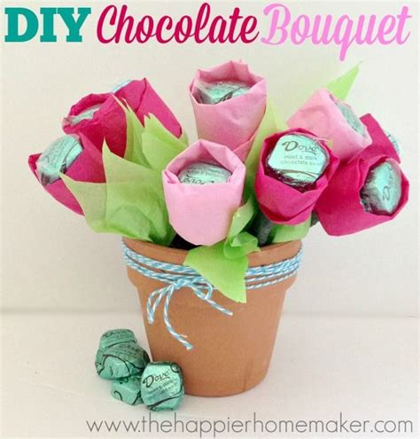 Bouquet Diy chocolate bouquet picmia