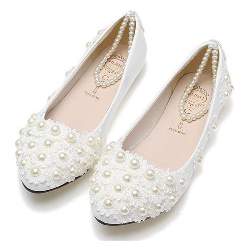 Where To Get Bridal Shoes by Flat White Bridal Shoes 28 Images Buy Pearl Lace