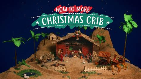 best christmas crib design series how to make a crib diy nativity