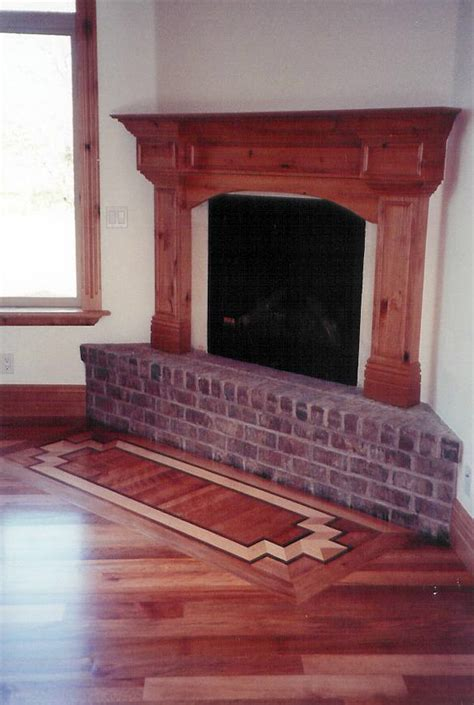 Fireplace Floor by Carson S Custom Hardwood Floors Utah Hardwood Flooring