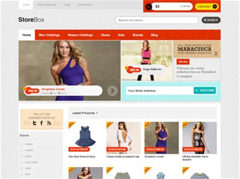 storebox wordpress ecommerce theme for selling cloth shop