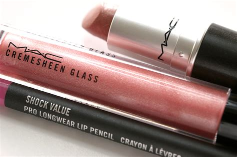 Mac C Shock Product by Lip Combo Alert Try Mac Flare For Cremesheen