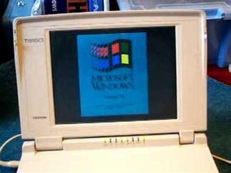toshiba tcs windows  laptop starting youtube