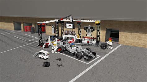 Pit Top 75911 Mclaren Mercedes Pit Stop Products Speed