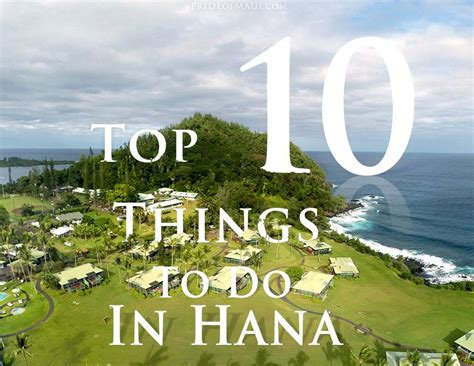 Hana Top hana things to do best hana activities