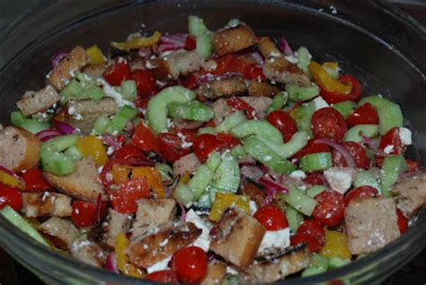 barefoot contessa greek salad unsifted greek panzanella salad